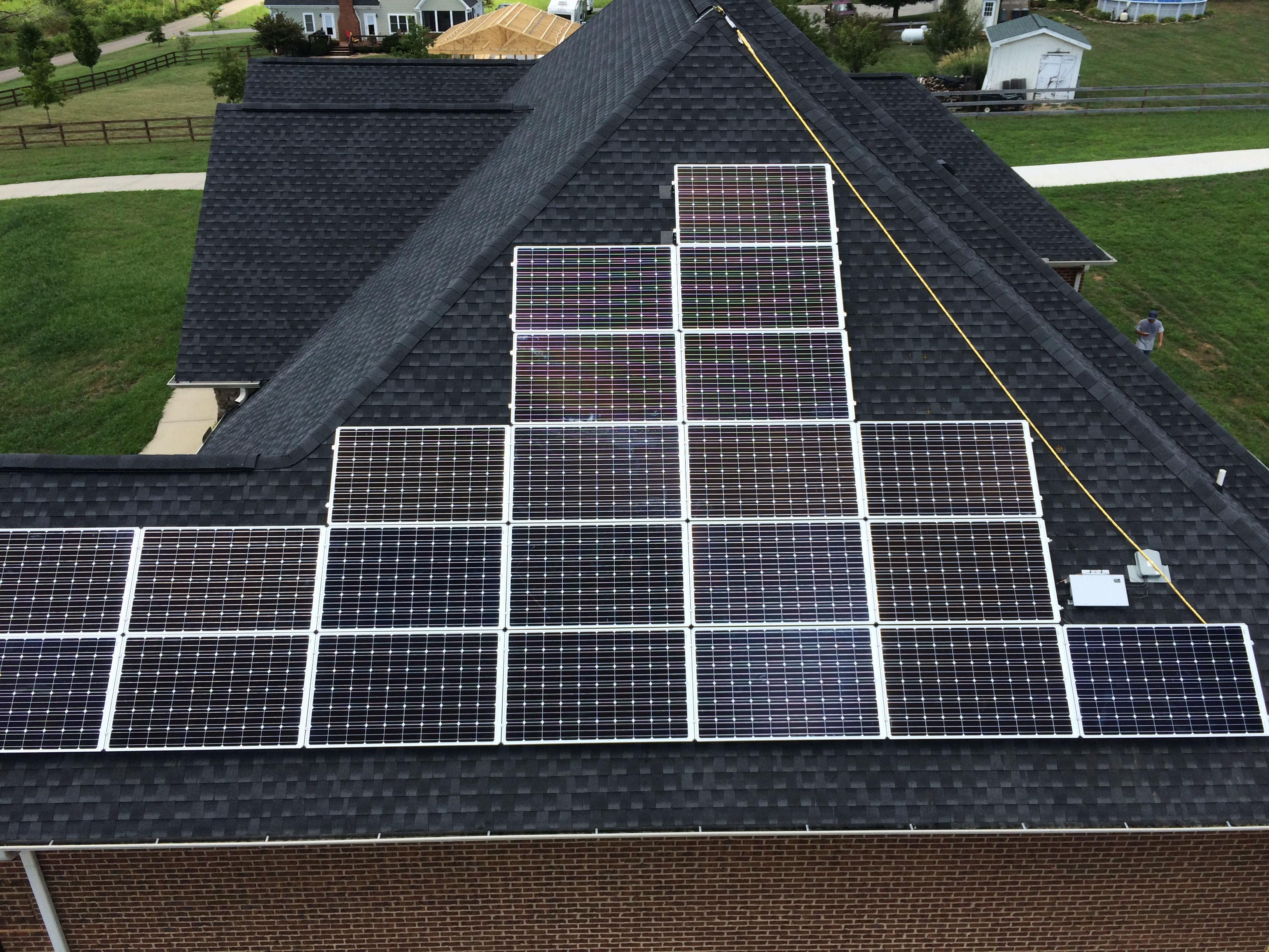 Solar in East Tennessee - The Facts - Solar Panels on the roof of a house