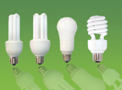Industrial Lighting Types - Compact Fluorescent Bulbs